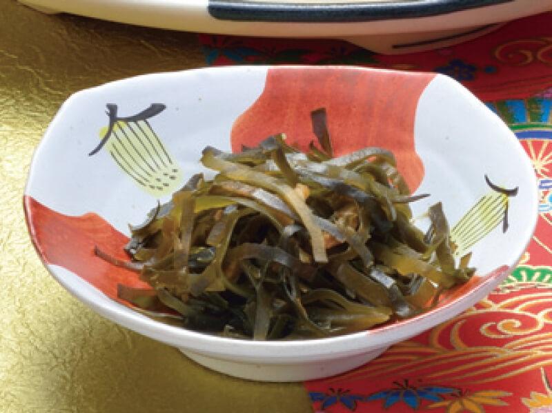 琉球料理 クーブイリチー