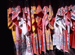 琉球衣装記念撮影