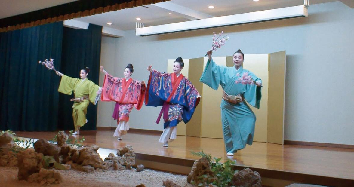 久米店の琉球舞踊